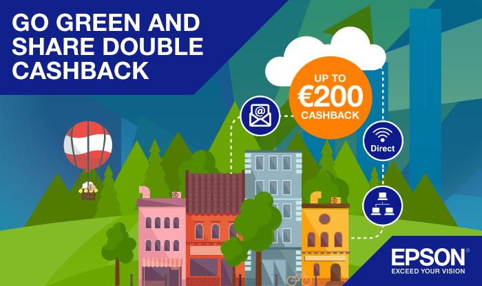 Epson Go Green Double Cashback IE